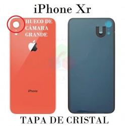 iPhone Xr-TAPA TRASERA DE...