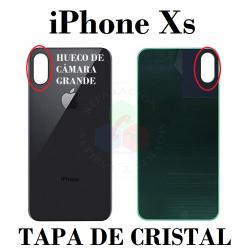 iPhone Xs-TAPA TRASERA NEGRO