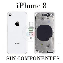 CARCASA iPhone 8-BLANCO SIN...