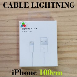 CABLE USB LIGHTNING 1m-iPhone