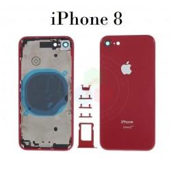 iPhone 8-CARCASA ROJO-Sin...
