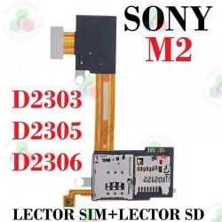 Sony M2/M2 Aqua-Flex Lector...