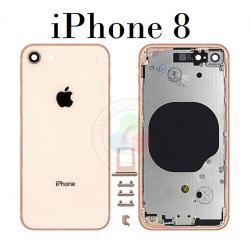 iPhone 8-CARCASA DORADO-Sin...