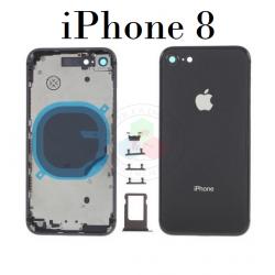 iPhone 8-CARCASA negro-Sin...