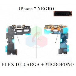FLEX DE CARGA-iPhone 7-negro