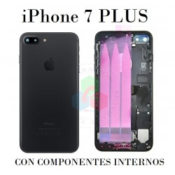iPhone 7 plus-CARCASA NEGRA...