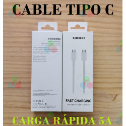 """CABLE SAMSUNG TIPO """"C"""" A..."""