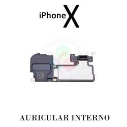 AURICULAR iPhone X-SIN FLEX