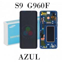 SAMSUNG S9 G960F-PANTALLA AZUL