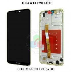 HUAWEI P20 LITE-DORADO CON...