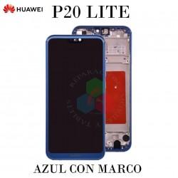 HUAWEI P20 LITE-AZUL CON MARCO