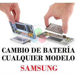 CAMBIO DE BATERÍA EN SAMSUNG