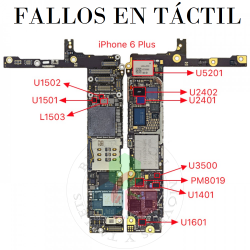 REPARAR iPhone SIN TACTIL/...